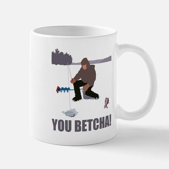 Funny Ice fishing Mug
