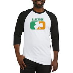 PATERSON irish Baseball Jersey