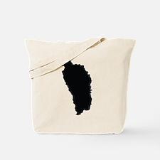 Dominica Silhouette Tote Bag
