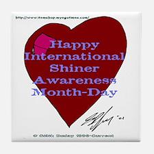 Shiner Awareness Tile Coaster