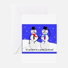 Funny Funny adult christmas Greeting Cards (Pk of 10)