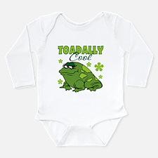 Cool Kids frog Long Sleeve Infant Bodysuit