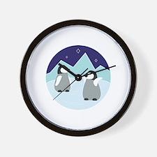 Unique Penguin Wall Clock