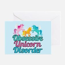 Cute Unicorn Pretty Greeting Card