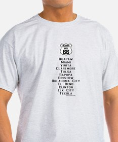 Cute Oklahoma route 66 T-Shirt