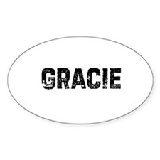 Gracie Oval Decal