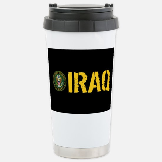 U.S. Army: Iraq Stainless Steel Travel Mug