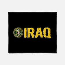 U.S. Army: Iraq Throw Blanket