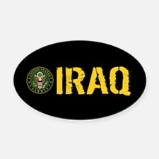 U.S. Army: Iraq Oval Car Magnet