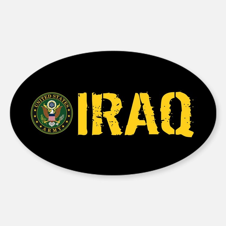 U.S. Army: Iraq Sticker (Oval)