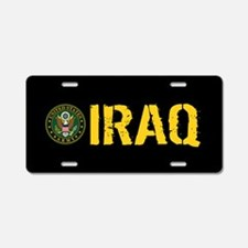 U.S. Army: Iraq Aluminum License Plate