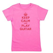 Cute Keep calm and play doubles Girl's Tee