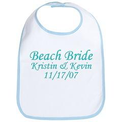 CUSTOM - Beach Bride Bib