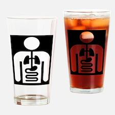 Internal Medicine Icon Drinking Glass