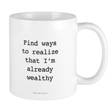 Millionaire In Training: Already Wealthy Mugs