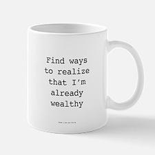 Millionaire In Training: Already Wealthy Mugs