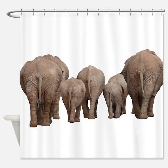 Cute African animals Shower Curtain