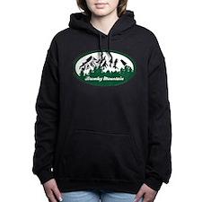 Unique Oval Women's Hooded Sweatshirt