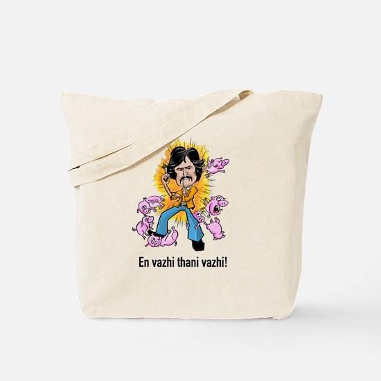 Superstar Rajinikant Tote Bag