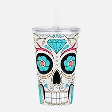 Sugar Skull Acrylic Double-wall Tumbler