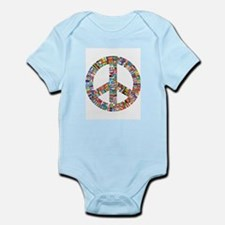 Peace to All Nations Body Suit