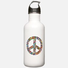 Peace to All Nations Water Bottle