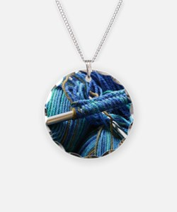 Unique Knitters Necklace