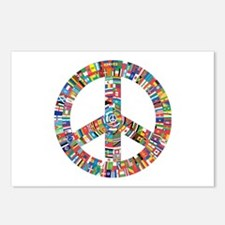 Peace to All Nations Postcards (Package of 8)