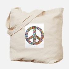 Peace to All Nations Tote Bag