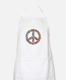 Peace to All Nations Apron