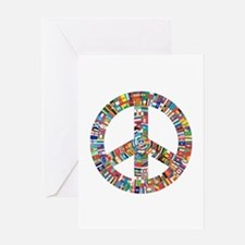 Peace to All Nations Greeting Cards