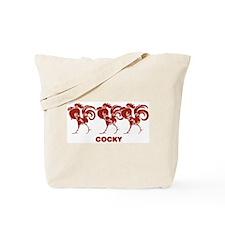 Cocky Tote Bag