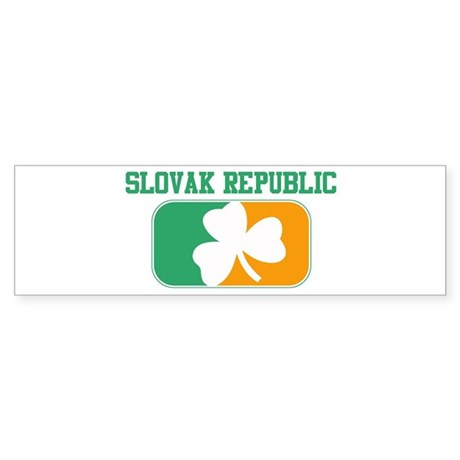 SLOVAK REPUBLIC irish Bumper Sticker