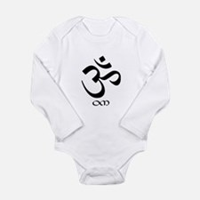 Unique Meditation Long Sleeve Infant Bodysuit