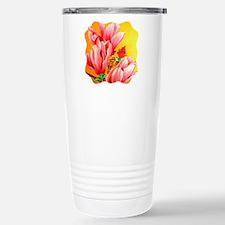 Cactus Flower Floral Stainless Steel Travel Mug