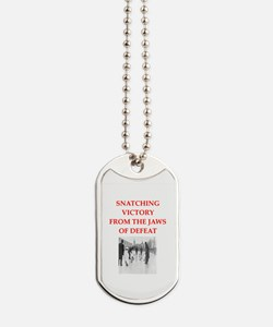 curling Dog Tags