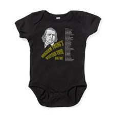 Brigham Young's Western Tour 1846-18 Baby Bodysuit