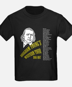 Brigham Young's Western Tour T-Shirt