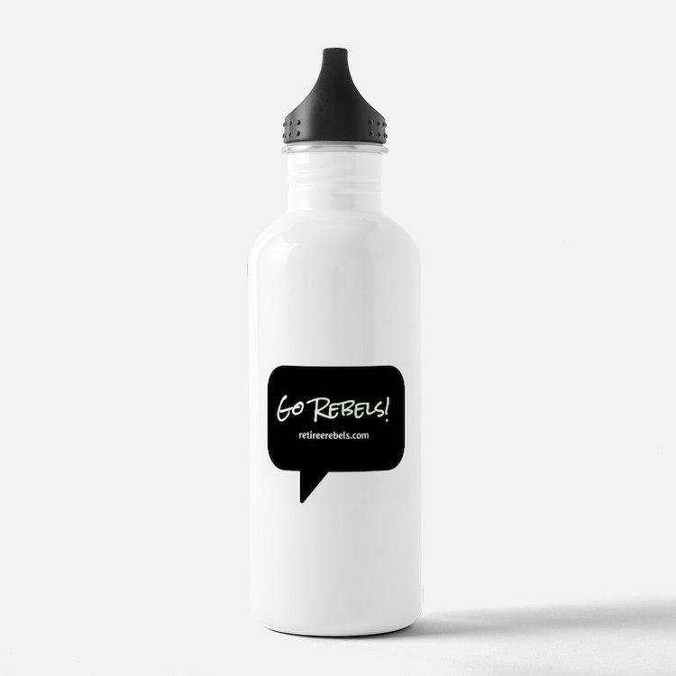 Cute Retiree Water Bottle