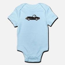 Black Spitfire Cartoon Infant Bodysuit
