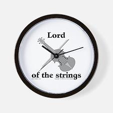 Lord/Violin. Wall Clock
