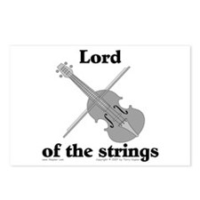 Lord/Violin. Postcards (Package of 8)
