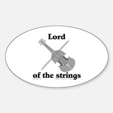 Lord/Violin. Oval Decal
