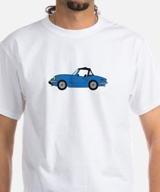 Blue Spitfire Cartoon Shirt