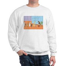 Cute Rhymes orange Sweatshirt