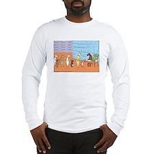 Cute Stripped Long Sleeve T-Shirt