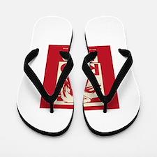 RED BEER SINCE 1844 Flip Flops