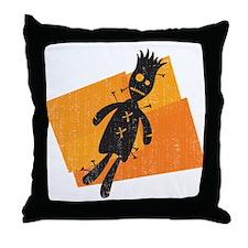 Voodoo Halloween Throw Pillow
