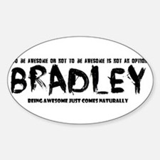 Bradley : awesome Decal