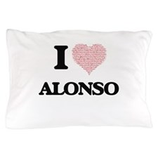 I Love Alonso (Heart Made from Love wo Pillow Case